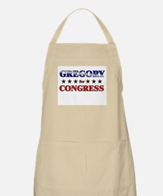 GREGORY for congress BBQ Apron