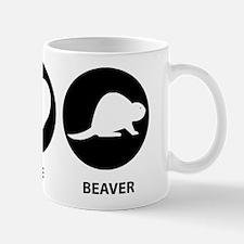 Peace Love Beaver Mug