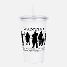 RPG Group of Heroes Acrylic Double-wall Tumbler