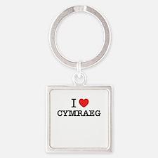 I Love CYMRAEG Keychains