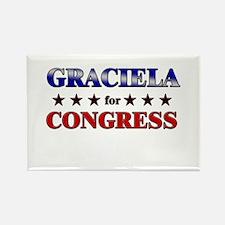 GRACIELA for congress Rectangle Magnet