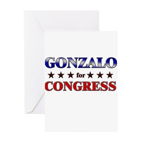 GONZALO for congress Greeting Card