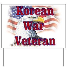 Korean War Veteran Yard Sign