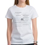 Find Peace Anti-War Women's T-Shirt