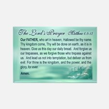 The Lord's Prayer scripture magnet