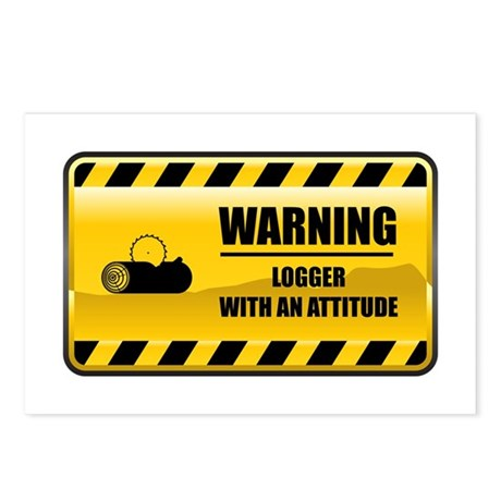 Warning Logger Postcards (Package of 8)