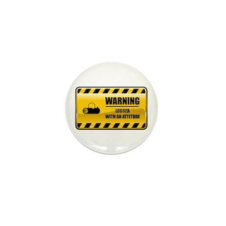 Warning Logger Mini Button (100 pack)