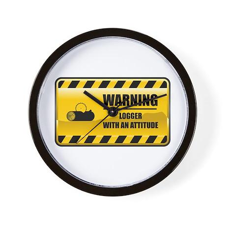 Warning Logger Wall Clock