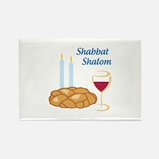 Shabbat Shalom Magnets