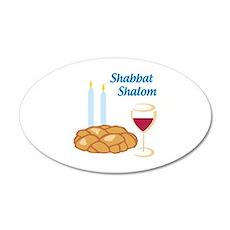 Shabbat Shalom Wall Decal