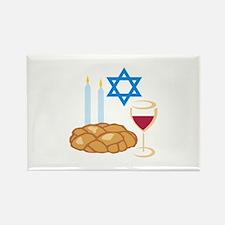 Jewish Shabbot Magnets