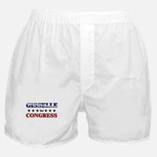 GISSELLE for congress Boxer Shorts