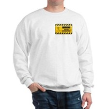 Warning Kite Flyer Sweatshirt