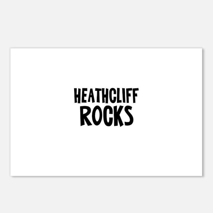 Heathcliff Rocks Postcards (Package of 8)