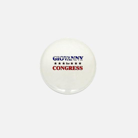 GIOVANNY for congress Mini Button