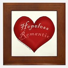 Hopeless Romantic Framed Tile