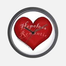 Hopeless Romantic Wall Clock
