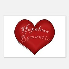 Hopeless Romantic Postcards (Package of 8)