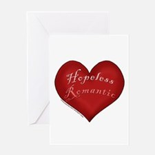 Hopeless Romantic Greeting Card