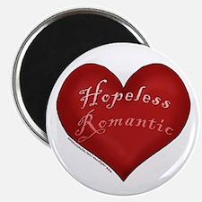 """Hopeless Romantic 2.25"""" Magnet (10 pack)"""