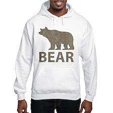 Vintage Bear Hoodie Sweatshirt