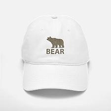 Vintage Bear Baseball Baseball Cap