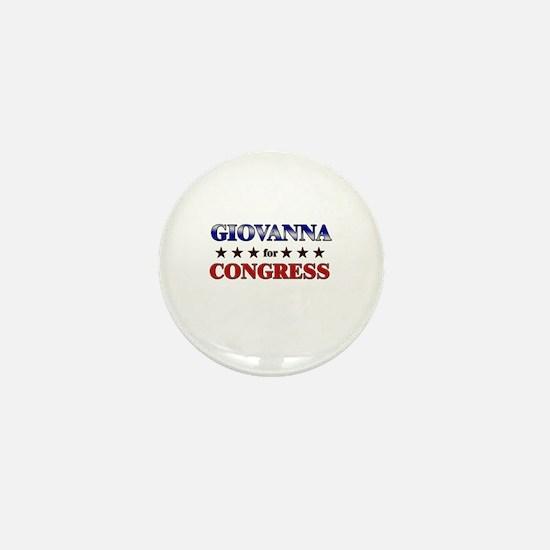 GIOVANNA for congress Mini Button