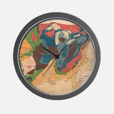Vintage United States Geological Map (1 Wall Clock
