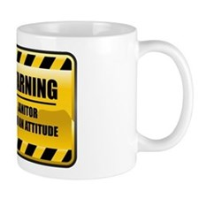Warning Janitor Small Mug