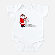 Santa's Nice List Infant Bodysuit