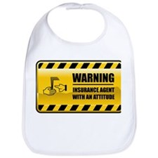 Warning Insurance Agent Bib