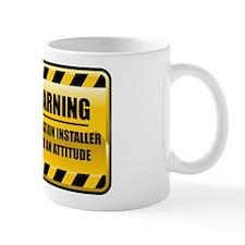 Warning Insulation Installer Mug