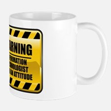 Warning Information Technologist Mug
