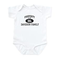 Property of Davidson Family Infant Bodysuit