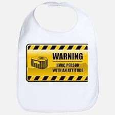 Warning HVAC Person Bib