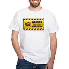Warning HVAC Person Shirt