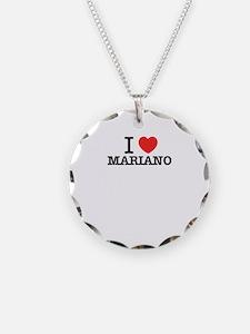 I Love MARIANO Necklace