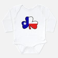Texas Flag Shamrock Shamrock Body Suit