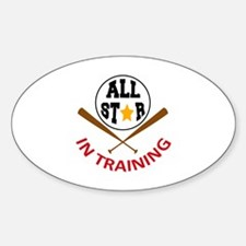 All Star In Training Decal