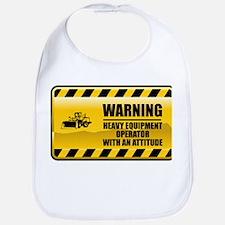 Warning Heavy Equipment Operator Bib
