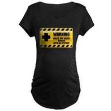Warning Health and Safety Officer T-Shirt