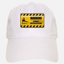 Warning Gymnast Baseball Baseball Cap