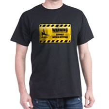 Warning Gymnast T-Shirt