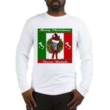 Donkey Buon Natale Christmas Long Sleeve T-Shirt