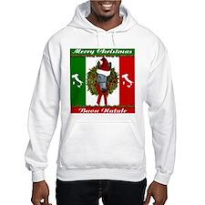 Donkey Buon Natale Christmas Hoodie