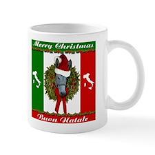 Donkey Buon Natale Christmas Mug