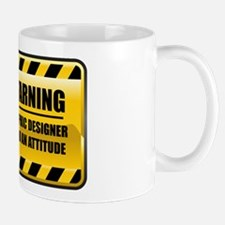 Warning Graphic Designer Mug
