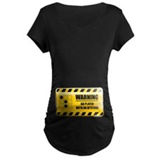 Warning Go Player T-Shirt