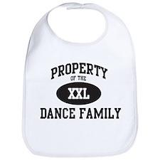 Property of Dance Family Bib