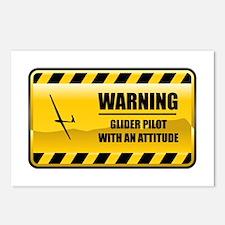 Warning Glider Pilot Postcards (Package of 8)